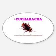 LA CUCHARACHA - COCKROACH! Decal
