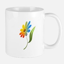 Rainbow Flower Mugs