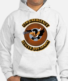 5th Emergency Rescue Squadron wi Hoodie