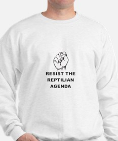 Resist The Reptilian Agenda Sweatshirt