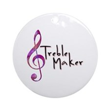 Treble Maker Ornament (Round)
