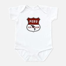 Pan-American Highway, Peru Infant Bodysuit