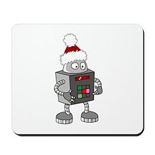 Christmas Robot Mousepad