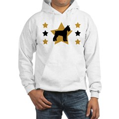 Stars & Schnauzer Hooded Sweatshirt