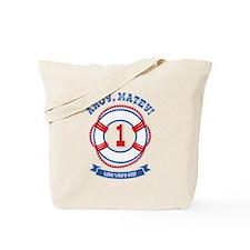 Ahoy Matey 1st Birthday Tote Bag