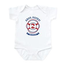 Ahoy Matey 2nd Birthday Infant Bodysuit