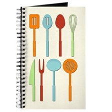 Kitchen Utensil Silhouettes Orblc Journal