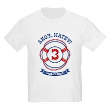 Ahoy Matey 3rd Birthday T-Shirt