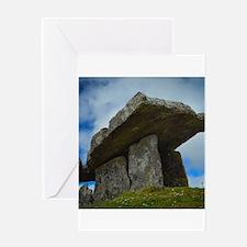 Poulnabrone dolmen Greeting Cards