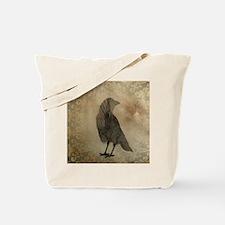Vintage Corvidae Tote Bag