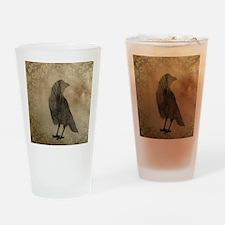 Vintage Corvidae Drinking Glass