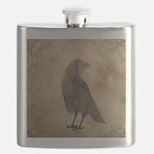 Vintage Corvidae Flask