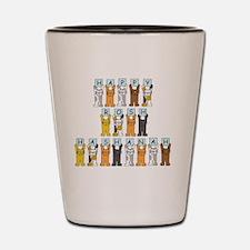 Unique Rosh hashanah Shot Glass