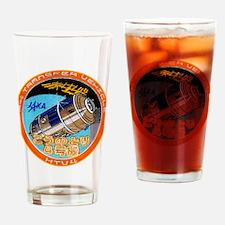 HTV-4 Logo Drinking Glass