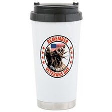 Remember Veterans Day, November 11 Travel Mug