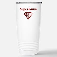 Cute Superhero birthday Travel Mug