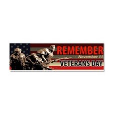 Remember Veterans Day, November 11 Car Magnet 10 x