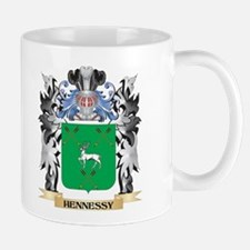 Hennessy Coat of Arms - Family Crest Mugs