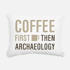 Cute Archeology Rectangular Canvas Pillow