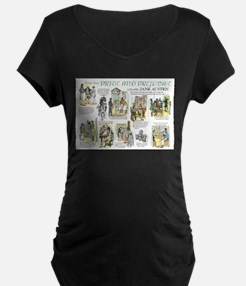 Scenes from Pride and Prejudice Maternity T-Shirt