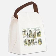 Scenes from Pride and Prejudice Canvas Lunch Bag