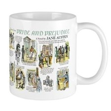 Scenes from Pride and Prejudice Mugs