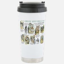 Scenes from Pride and P Stainless Steel Travel Mug