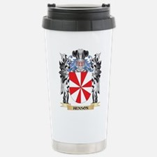 Henson Coat of Arms - F Stainless Steel Travel Mug
