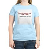 Book addict Women's Light T-Shirt