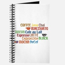 Coffe collage Journal