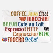 Coffe collage Pillow Case