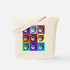 Cats Pop Art Tote Bag