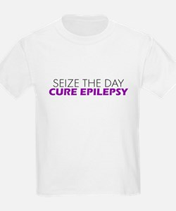 Seize the day Cure Epilepsy T-Shirt