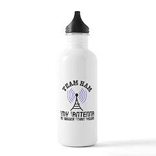 Team Ham Water Bottle