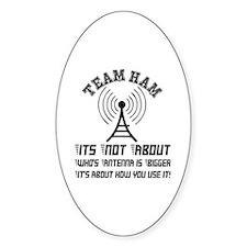 Team Ham Decal