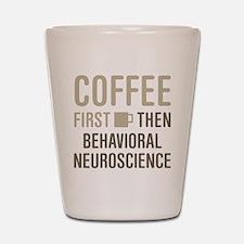 Behavioral Neuroscience Shot Glass