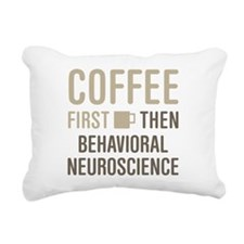 Behavioral Neuroscience Rectangular Canvas Pillow