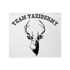 Cute Taxidermy Throw Blanket