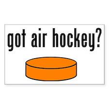 Got Air Hockey Decal