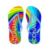 Crazy personalized Flip Flops