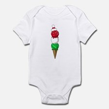 Christmas Ice Cream Infant Bodysuit