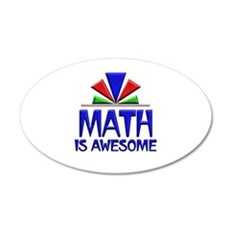 Math is Awesome Wall Decal