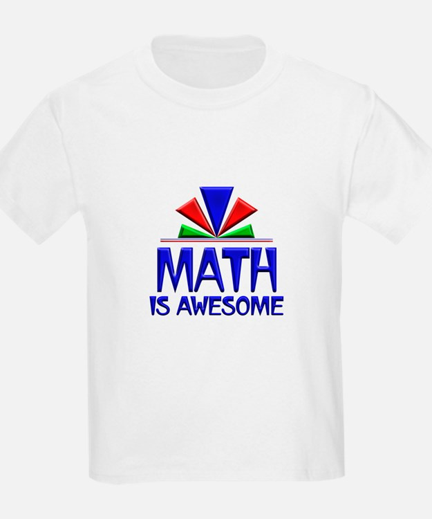 Math is Awesome T-Shirt