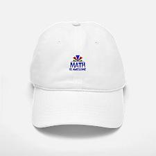 Math is Awesome Baseball Baseball Cap