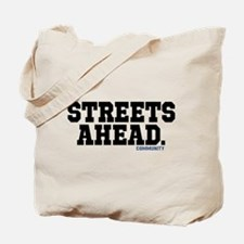 Streets Ahead Community Tv Show Tote Bag
