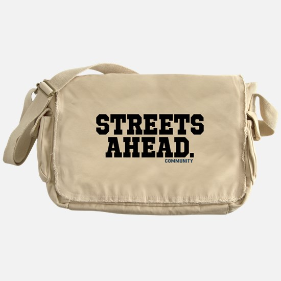 Streets Ahead Community Tv Show Messenger Bag