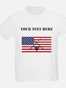 Billiards American Flag T-Shirt
