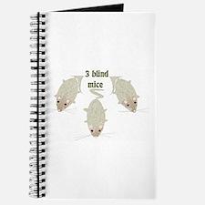 """3 Blind Mice"" Journal"
