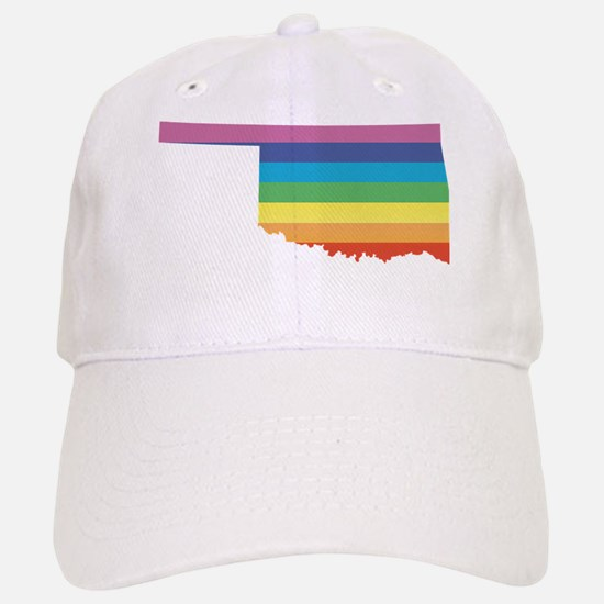 oklahoma rainbow Baseball Baseball Baseball Cap