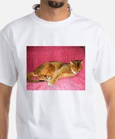 Abyssinian sleeping T-Shirt